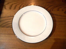 Noritake Ivory China Marseilles Salad Plate with Platinum Trim