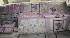 Cocala Baby Crib Nursery Bedding / Bumper Butterfly