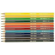 Berol Verithin Colouring Pencils Assorted Colours Artist Sketching - Pack 12
