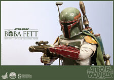 STAR WARS~ROTJ~BOBA FETT~BOUNTY HUNTER~QUARTER SCALE FIGURE~HOT TOYS~MIB