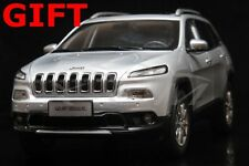 Car Model All New Jeep Cherokee 1:18 (Silver) + SMALL GIFT!!!!!!!!!