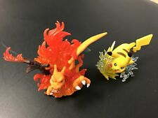 Pokemon TCG : CHARIZARD & PIKACHU RED BLUE SCULPTED FIGURE SET