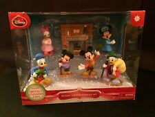 New Disney Mickey Mouse's A Christmas Carol Scrooge Collectible Figures Set