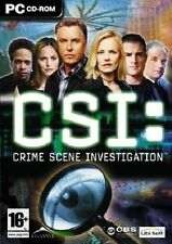 CSI: Crime Scene Investigation, PC CD-Rom Game.
