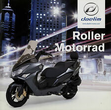 Prospetto DAELIM SCOOTER MOTO 1/14 2014 Daystar Roadwin s300 s3 Otello SCOOTER