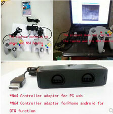 New N64 controller adaptor for PC and Android Phone OTG function