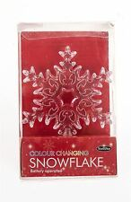 Colour Changing Snowflake - Battery Operated