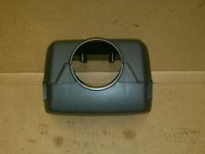 91 JAGUAR XJ6 STEERING COLUMN COVER BLACK  WITH TILT WHEEL
