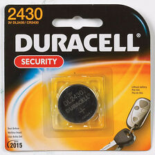 "NEW! ""DURACELL"" 2430 Security Medical Fitness Electronic 3 Volt Lithium Battery"