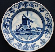 """DELFT BLUE HAND PAINTED MADE IN HOLLAND 5.5"""" (14cm) dia."""
