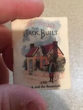Mini doll house book The House That Jack Built