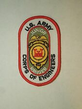 US Army Corps of Engineers Junior Ranger Iron On Patch