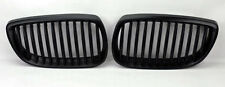 Black Front Hood Kidney Grills Pair FITS BMW 3 Series 2dr E92 E93 2007-2010