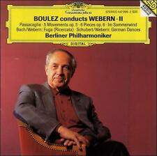 `Berlin Philharmonic Orches...-Boulez Conducts Webern Ii; Ber  CD NEW