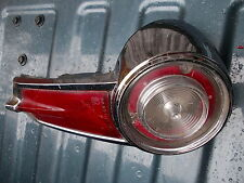 1964 to 1965 plymouth barracuda - valiant right tail light assyembly..complete