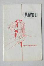 ANCIEN PROGRAMME - LE MUSIC HALL PARISIEN MAYOL*