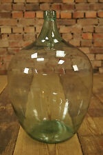 VINTAGE Bodenvase - Weinballon - INDUSTRIAL - Glasballon - Factory Design - Wine