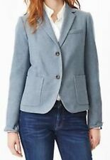 GAP THE ACADEMY WOOL BLEND BLAZER - LIGHT BLUE - SIZE 10 TALL