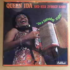 Queen Ida and her Zydaco Band-On a Saturday Night-ORIG 1984 GNP Crescendo-SEALED