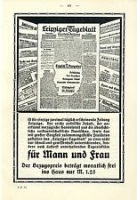 Leipziger dealer et commerce-journal par jour 2 dépenses histor. annonce 1914