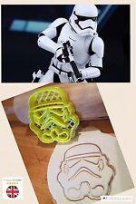 Storm Trooper Star Wars Reino Unido Vendedor Bizcocho Masita Cortador Fondant Pastel Decoración