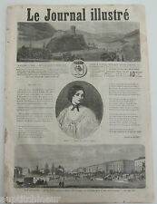Le journal illustré 91 1865 gravures Emir Abd-el-kader / Indes Lucknow Oude