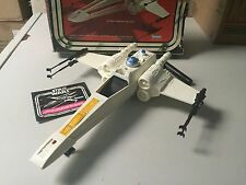 Star Wars X-Wing Fighter KENNER Action Figure Vehicle WITH BOX & Insert 1977 TB1