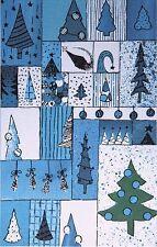 20 Weihnachtskarten Grußkarten Tannenbäume 200 g/m² bedruckbar Mayspies 7771