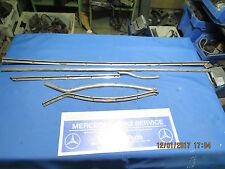 Mercedes original old door parts from door trim list 300D adenauer