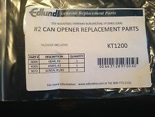 EDLUND #2 CAN OPENER REPLACEMENT PARTS KT 1200  FREE SHIPPING US ONLY