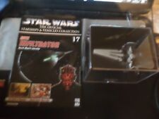 star wars starship & vehicle collection no 17 sith infiltrator see pic's reduced