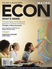 ECON for Macroeconomics by William A. McEachern (2008, Paperback) NIP Sealed!