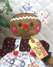 "~Primitive NEW 2017 Raggedy ""Kitchen Gingerbread"" Collection! 15"" doll~"