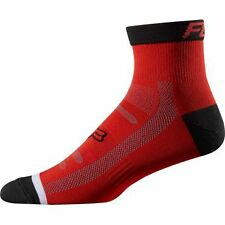 "Fox Racing Trail Sock 4"" Red L/XL"