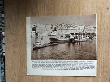 S5 ephemera 1947 picture war brahmin delivers water to malta