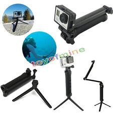 3 Façons Perche Télescopique Monopode Selfie Stick pour Caméra GoPro 4/3+ 3/2