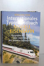 Buch Bernhard Stein Internationales Typenhandbuch Modelleisenbahn Spur H0