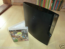 Sony PlayStation 3 ps3 slim 160gb, unidad defectuosa, incl. Naruto Ninja Storm 3