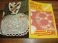 HÄKELN SPEZIAL  # 36/1982 -- KUNSTHÄKELN // verschiedene Mitteldeckchen