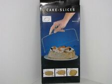 Stainless Steel Cake Slicer / Cake Cutting Wire Leveller Serrated Edge