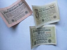 WWI German SUPER INFLATION CURRENCY, 20,000,000 MARKS, WEIMAR REPUBLIC, 1920's