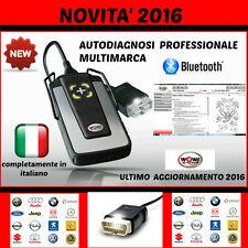 AUTO DIAGNOSI  MULTIMARCA PROFESSIONALE W.0.W  NOVITA´ 2016 AUTODIAGNOSI WURTH