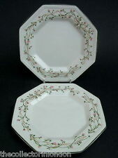 TWO Johnson Brothers Eternal Beau Pattern Side or Bread Size Plates 16cm in VGC