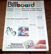 Billboard Magazine 1973 Led Zeppelin #1 Album Michael Jackson Diana Ross Ads