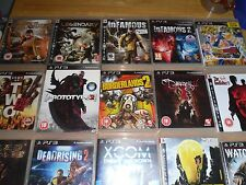 """16 Game Bundle (PS3) """"""""Mixed Collection"""""""" CHEAP"""
