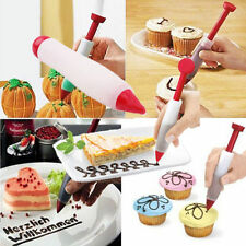 1Pc Silicone Pen Cake Cookie Chocolate Food Writing Drawing Painting Decor Tool