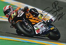 Simone Corsi Hand Signed 12x8 Photo Speed Up Racing 2016 Moto2 MOTOGP 3.