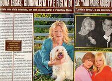 SP91 Clipping-Ritaglio 2014 Debora Ergas Figlia di Sandra Milo Mio padre abusò..