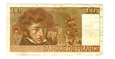 My world collection> FRANCE 1977B 10Franc Banknote  VERY NICE pre-Euro