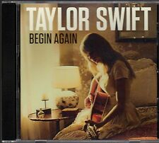 Taylor Swift USDJ PROMO CD Begin Again REPEATS 3X Rare BIG MACHINE RECORDS